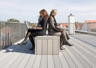 composite decking benches 4